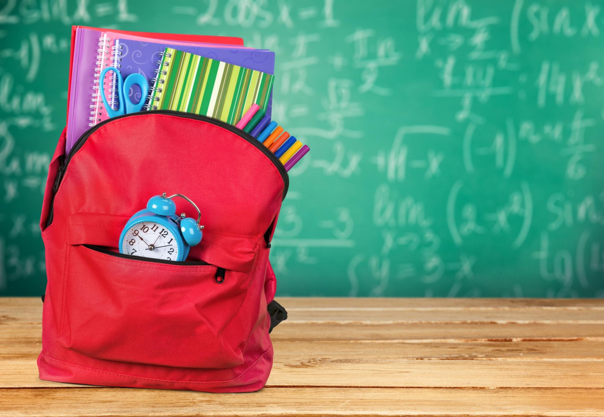 Garde enfant: aller ou rentrer de l'école