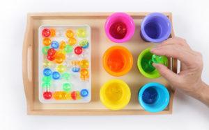 Plateau jeux éducatif éveil enfant Montessori Monaco